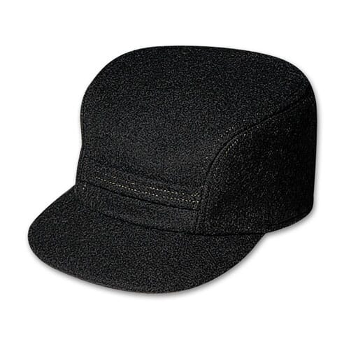 Filson SM Black Mackinaw Cap 60040