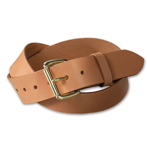 "Filson 30 Tan//Brass 1.5/"" Leather Belt 63202242206"