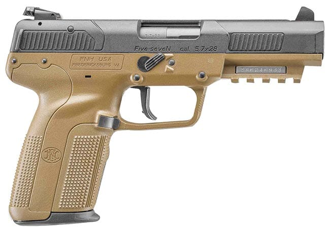 FN Five-seveN FDE (3) 20rd Adj Sight 3868929350