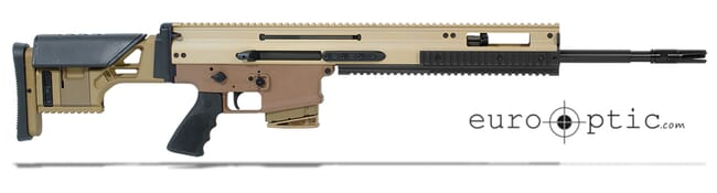 "FN SCAR 20S 7.62x51mm Flat Dark Earth 20"" 10rd Semi Automatic Rifle 38996"