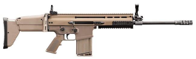 "FN SCAR 17S 7.62x51mm FDE 16"" 10rd 98641"