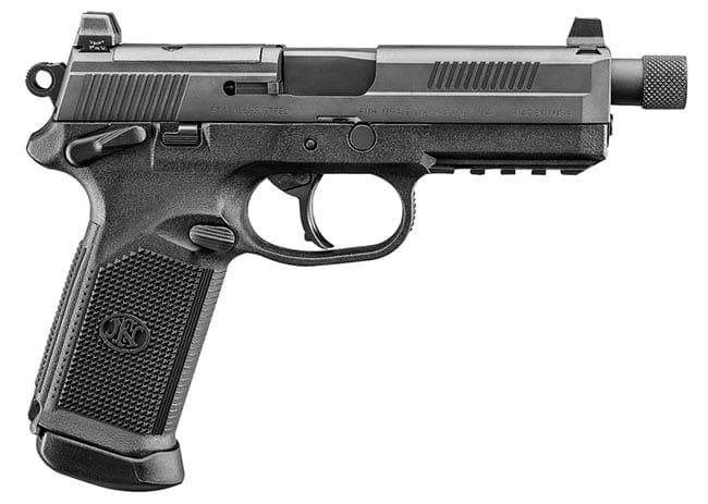 FNX-45 Tactical DA/SA MS Blk/Blk (3) 15rd Night Sight 66966