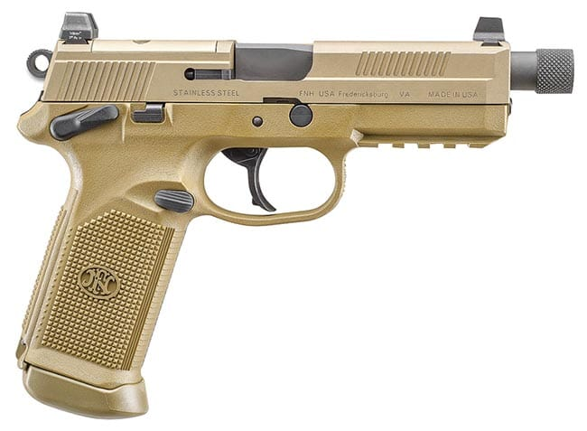 FNX-45 Tactical DA/SA MS FDE/FDE (3) 10rd Night Sight 66982