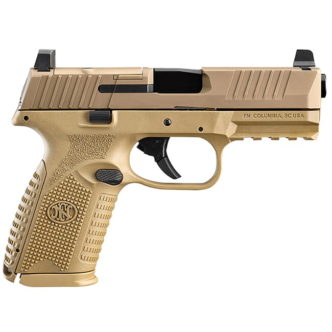 FN 509 Midsize MRD FDE Pistol (2) 10-Rd Mags 66-100742
