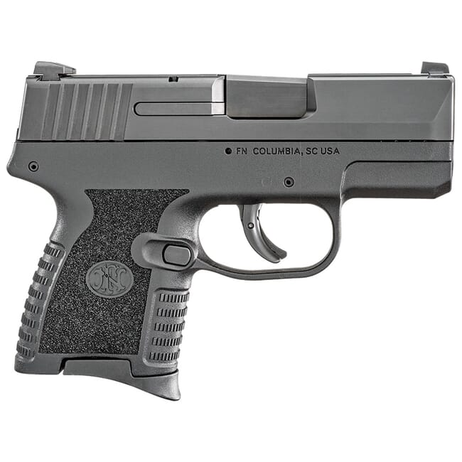 FN 503 9mm Blk/Blk Pistol w/(1) 6rd (1) 8rd 66-100098-1