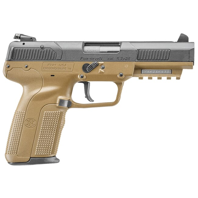 FN Five-seveN FDE (2) 10rd Adj Sight 3868929357