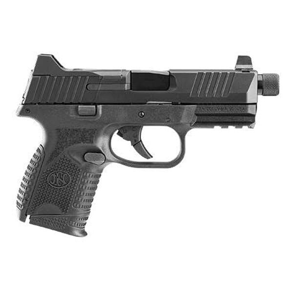 FN 509 Compact Tactical 9mm Blk/Blk Pistol w/ (1) 12rd and (1) 24rd Mags 66-100782