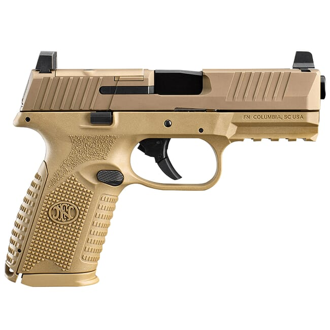 FN 509 Midsize MRD FDE Pistol (2) 15-Rd Mags 66-100741