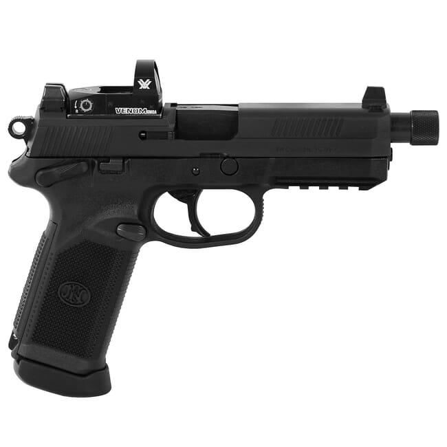 FN FNX-45 Tactical .45 ACP BLK/BLK NS Pistol with 2X15 Vortex Venom Red Dot 66-100657