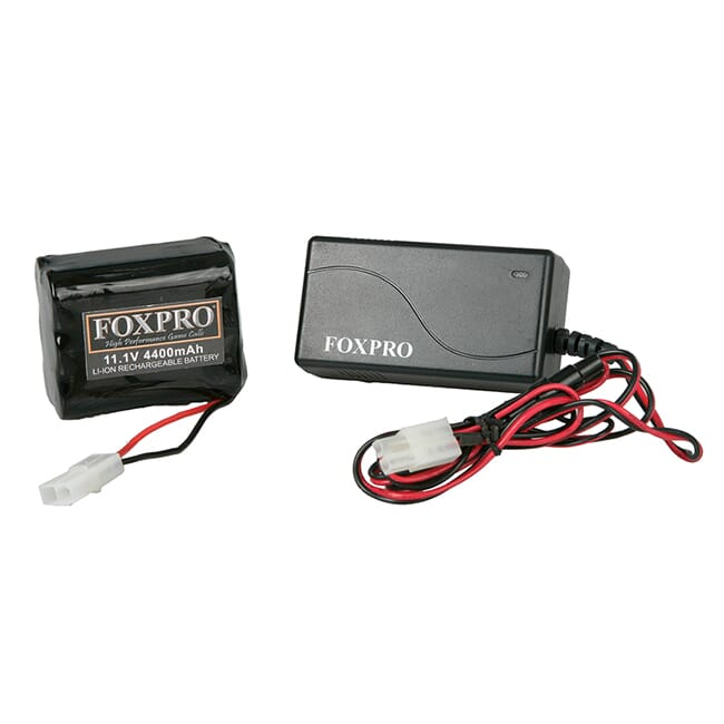 FOXPRO Lithium 10 Cell Pack/Fast Charger (Shockwave Banshee)