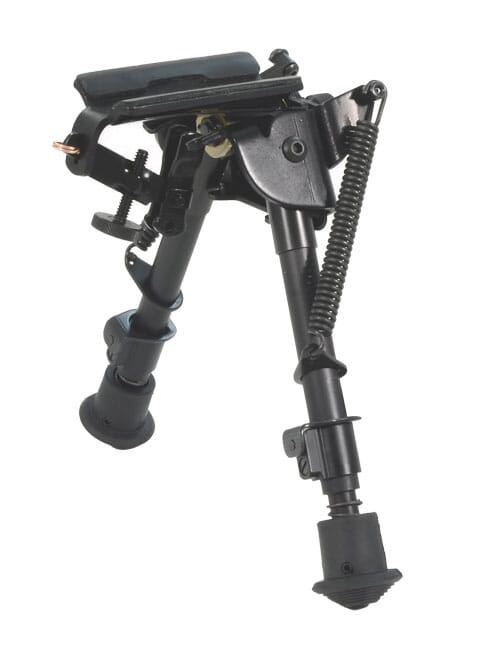 Harris BRM-S 6-9 inch Swivel Bipod with leg notches