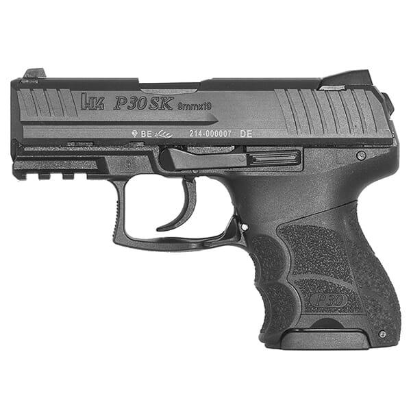 Heckler Koch P30SK V1 9mm Pistol 730901KLE-A5