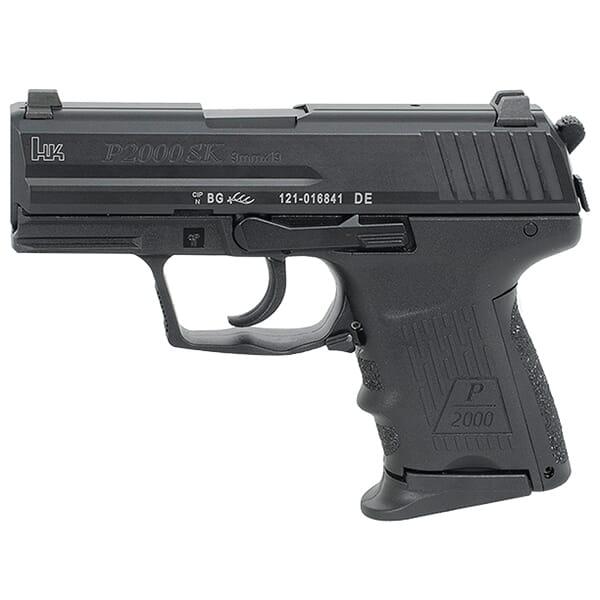 Heckler Koch P2000SK V2 9mm Pistol HK-709302-A5