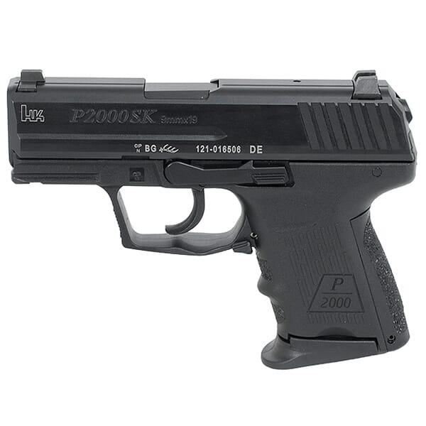 HK P2000SK Sub-Compact LEM V2 9mm Pistol 709302LE-A5
