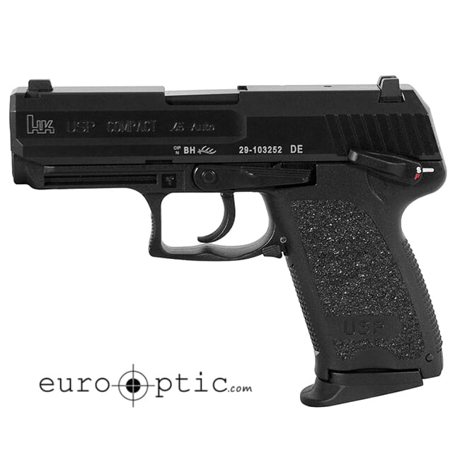 HK USP45 Compact V1 .45 ACP Pistol 704531LE-A5