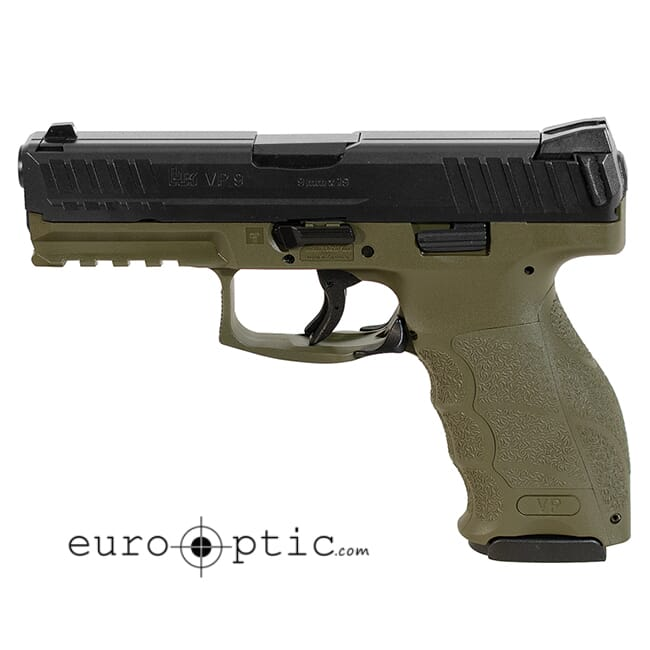 HK VP9 OD Green (2) 10rd mags 700009GR-A5