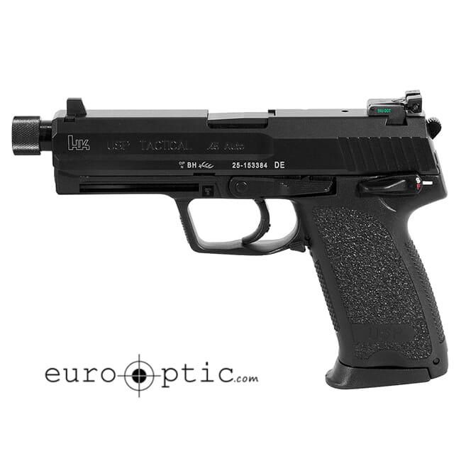 Heckler Koch USP45 Tactical V1 .45 ACP 12rd Pistol 704501TLE-A5