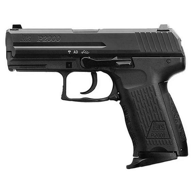 Heckler Koch P2000 V2 LEM .40 S&W Pistol 704202LEL-A5