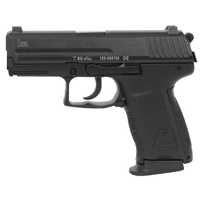 Heckler Koch P2000 V3 .40 S&W Pistol 704203LEL-A5