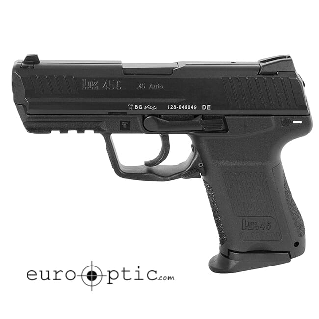 HK HK45C (Compact) Pistols, .45 ACP - supplied with one additional backstrap.  HK45 Compact (V7) LEM DAO, two 8rd magazines MPN 745037-A5|745037-A5