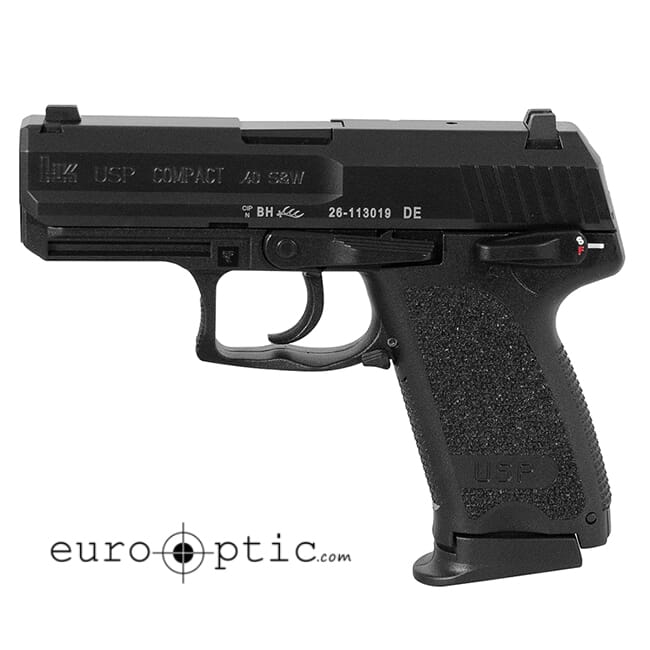 HK USP40 Compact V1 .40 S&W Pistol 704031LE-A5