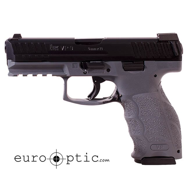HK VP9 Grey 9mm w/Night Sight Pistol 700009GYLEL-A5