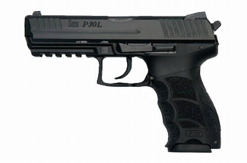 Heckler Koch P30L V1 Light LEM 9mm Pistol 730901L-A5