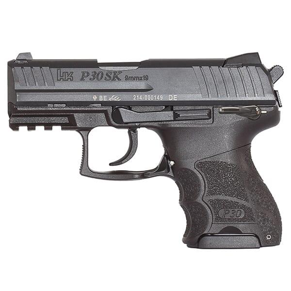 Heckler Koch P30SKS V3 9mm Pistol 730903KSLE-A5
