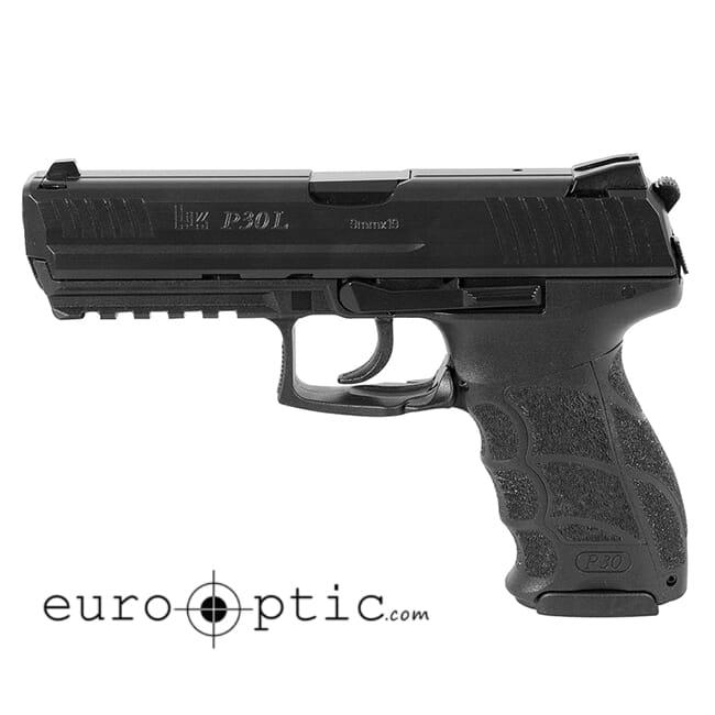 Heckler Koch P30L V1 Light LEM 9mm Pistol 730901L-A5