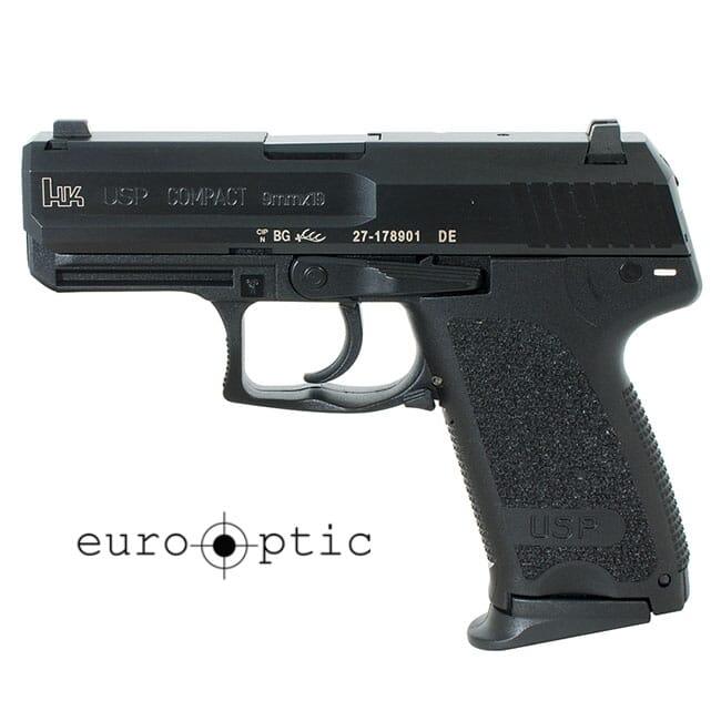 Heckler Koch USP9 Compact V7 LEM 9mm Pistol 709037LE-A5