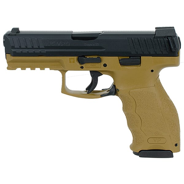 Heckler Koch VP9 9mm FDE Pistol 700009FDELE-A5