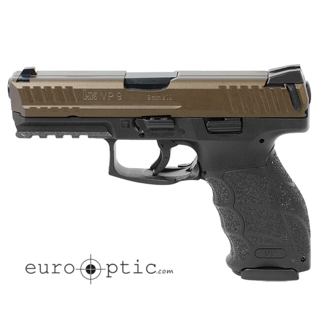 HK VP 9mm Midnight Bronze (2) 15rd Magazines 81000137