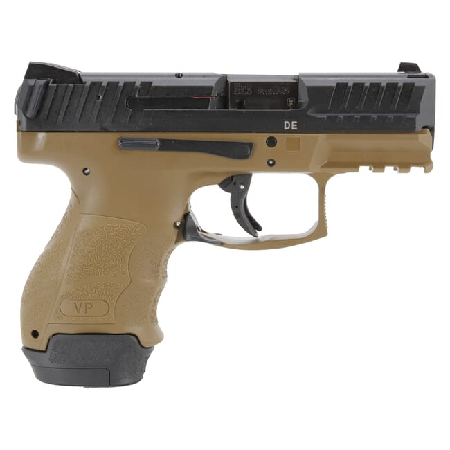 HK VP9SK Subcompact 9mm FDE Pistol (1) 13rd and (1) 10rd Magazines 81000291