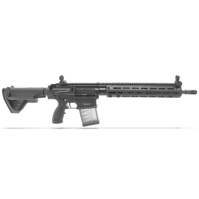 "HK MR762A1 7.62mm Semi-Auto 16.5"" Bbl Rifle with (1) 20rd Mag 81000540"