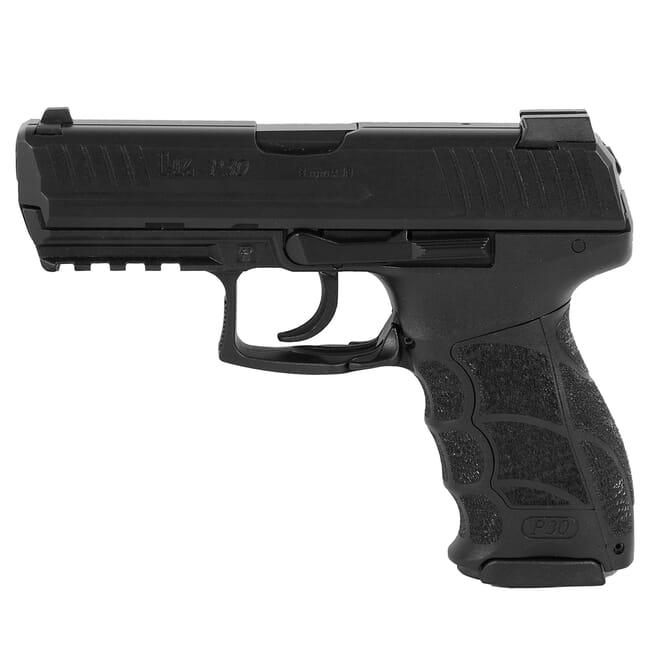 """HK P30 (V1) 9mm """"light"""" LEM DAO Pistol w/ (3) 10rd Mags & Night Sights 91000014"""