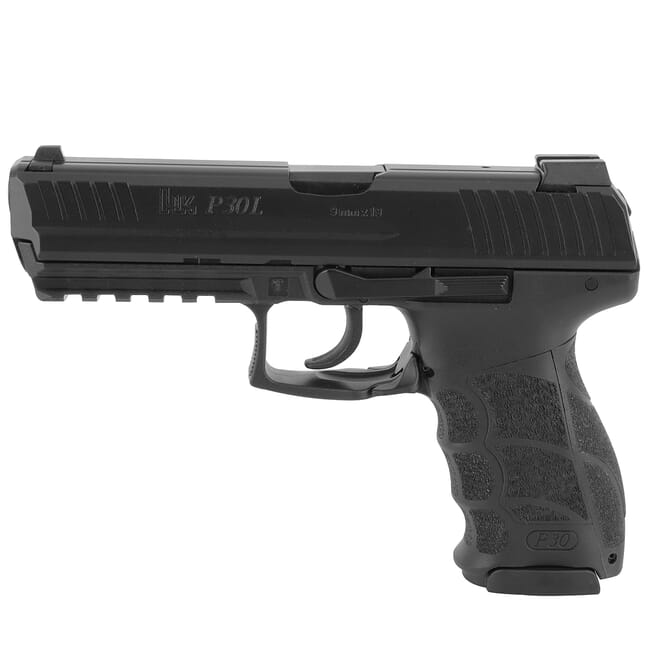 "HK P30L Long Slide (V1) 9mm ""Light"" LEM DAO Pistol w/ (3) 17rd Mags and Night Sights 81000116"