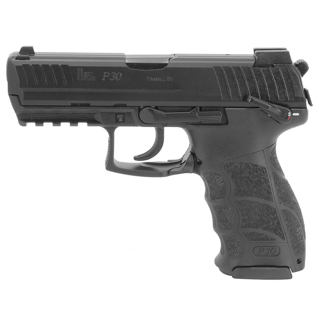 HK P30S (V3) 9mm DA/SA Pistol w/ Ambi. Safety/Rear Decocking Button (3) 10rd Mags and Night Sights 81000114