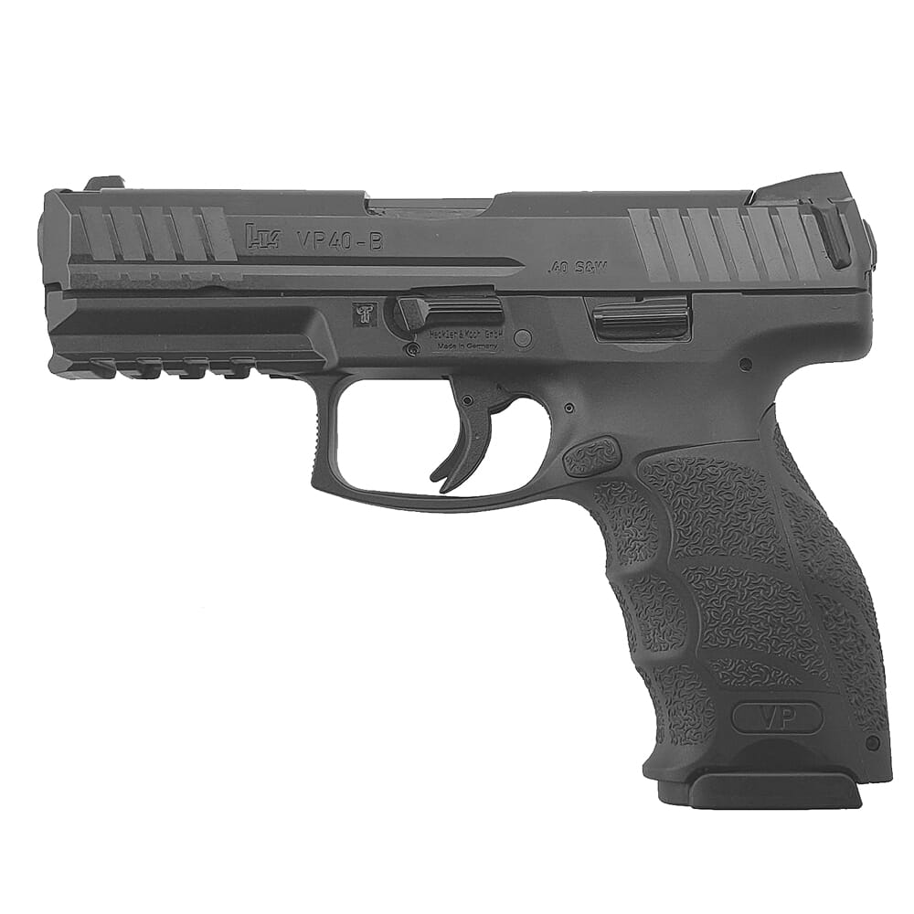 HK VP40 .40 S&W Pistol with Push Button Mag Release (2) 10rd Mags 81000271