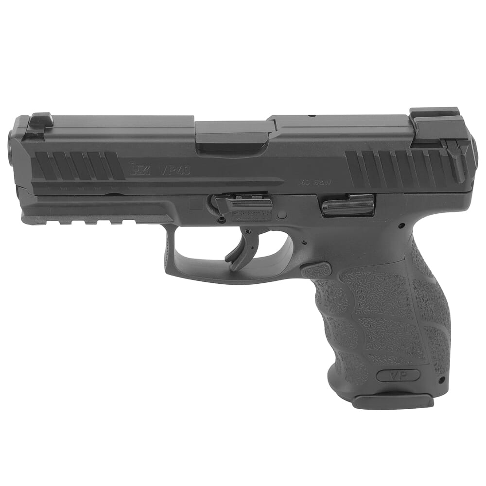 HK VP40 .40 S&W Pistol with Push Button Mag Release (3) 13rd Mags Night Sights 81000270