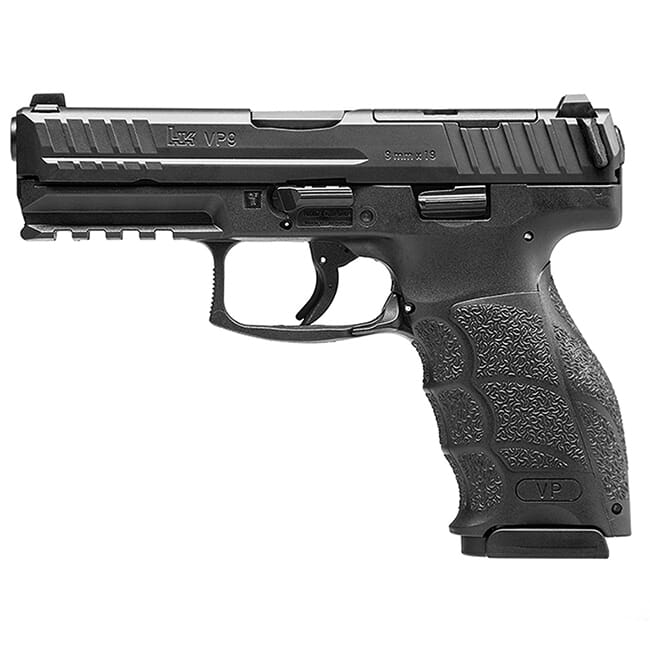 HK VP9, Optics Ready, 9mm Pistol w/ (2) 17rd Mags 81000483