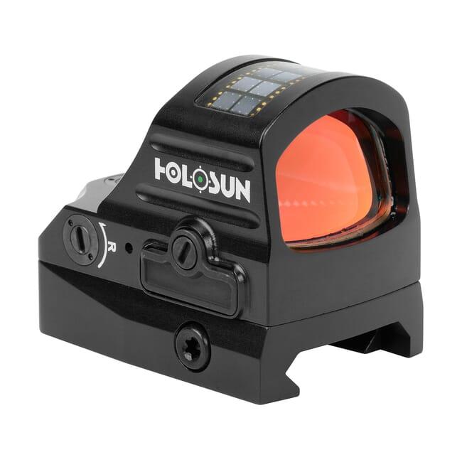 Holosun HE407C-GR-V2 Green 2MOA Dot Only Open Reflex Sight w/ Solar Failsafe and Shake Awake - HE407C-GR-V2