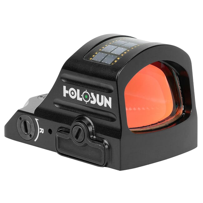 Holosun HE407C-GR-X2 Green 2MOA Dot Only Open Reflex Sight w/ Solar Failsafe and Shake Awake - HE407C-GR-X2