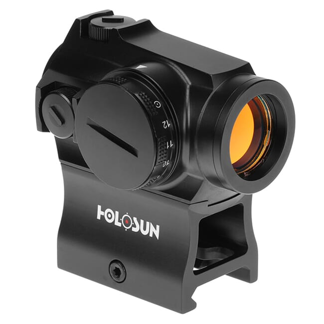 Holosun HE503R-GD Gold Multi-Reticle Circle Dot 20mm Micro Reflex Sight w/ Rotary Switch - HE503R-GD