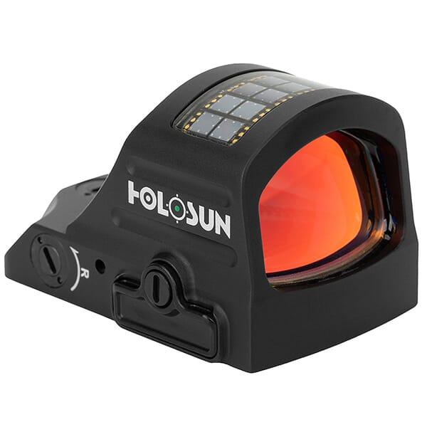 Holosun HE507C-GR-X2 Green Multi-Reticle Circle Dot Open Reflex Sight w/ Solar Failsafe and Shake Awake - HE507C-GR-X2