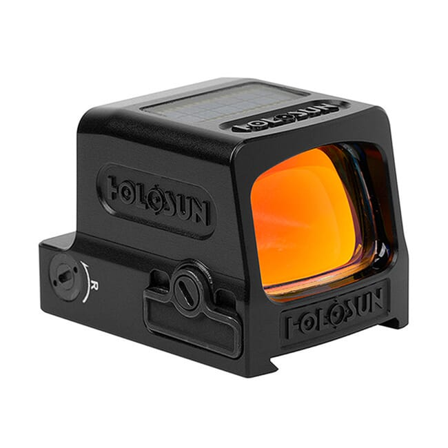 Holosun HE509T-RD Titanium Multi-Reticle Circle Dot Enclosed Reflex Sight w/ Solar Failsafe and Shake Awake - HE509T-RD