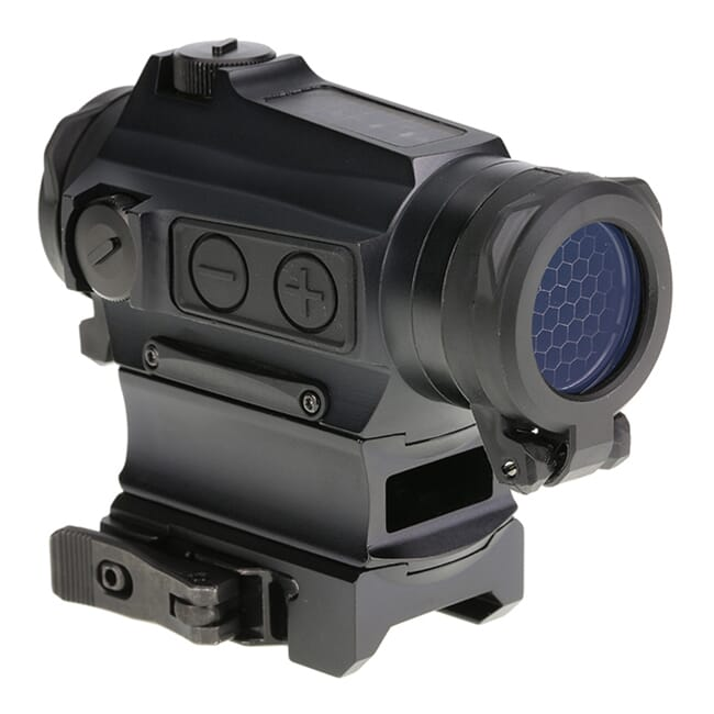 Holosun HE515CM-GR Green Multi-Reticle Circle Dot 20mm Micro Reflex Sight w/ Solar Failsafe, Shake Awake, and QD Mount - HE515CM-GR