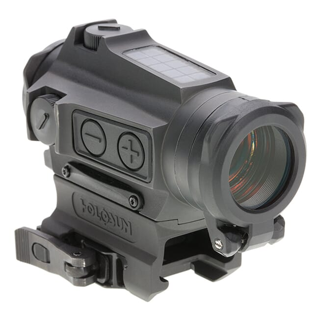 Holosun HE515CT-GR Titanium Green Multi-Reticle Circle Dot 20mm Micro Reflex Sight w/ Solar Failsafe and Shake Awake - HE515CT-GR