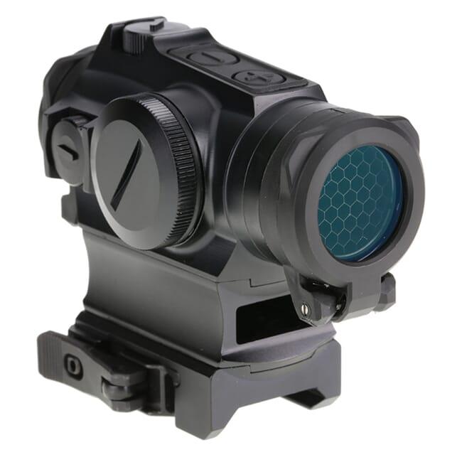 Holosun HE515GM-GR Green Multi-Reticle Circle Dot 20mm Micro Reflex Sight w/ Shake Awake and QD Mount - HE515GM-GR