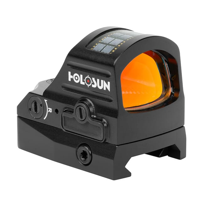 Holosun HS407C-V2 2MOA Dot Only Open Reflex Sight w/ Solar Failsafe and Shake Awake - HS407C-V2
