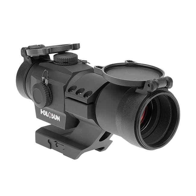 Holosun HS506 Multi-Reticle Circle Dot 30mm Reflex Sight w/ Shake Awake and Cantilever Mount - HS506